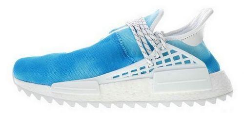 e9116f6da 2018 的 Low Price Pharrell adidas NMD Hu China Exclusive Peace Blue ...
