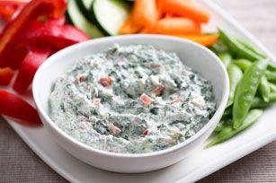 PHILADELPHIA Spinach Dip Recipe - Kraft Recipes