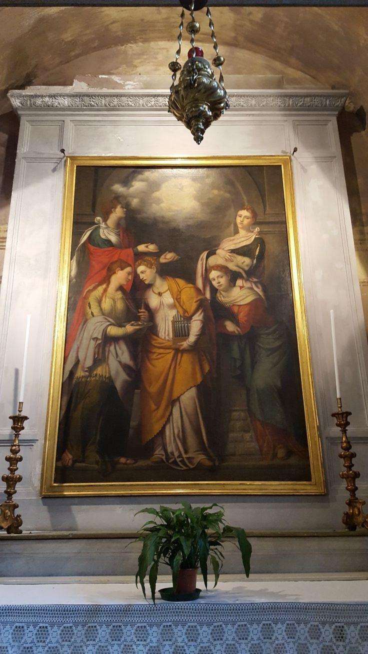 Brescia: San Clemente Sante martiri  1540/50 Moretto