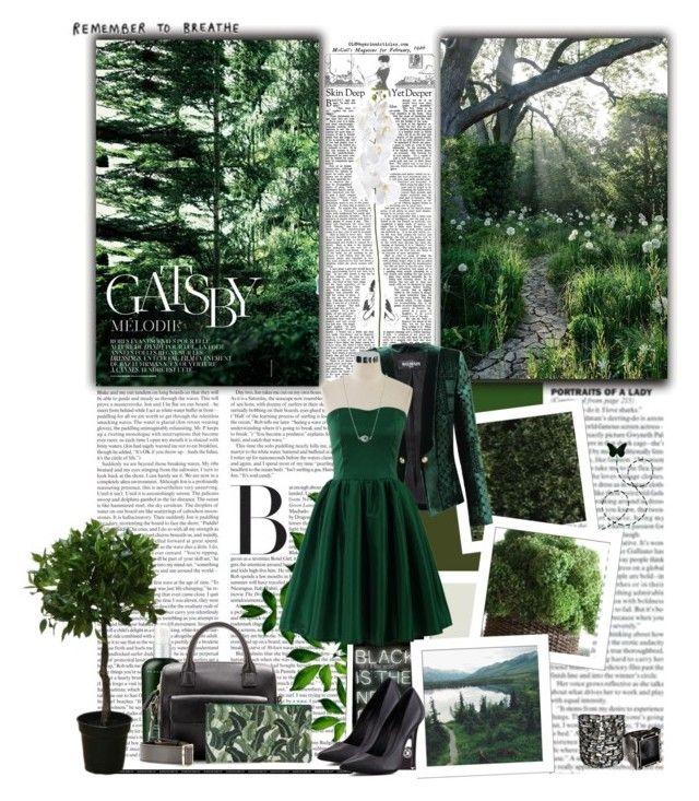"""Follow You Down To The Red Oak Tree - James Vincent McMorrow"" by skylight101 ❤ liked on Polyvore featuring Gatsby, Brucs, Dr. Alkaitis, Anya Hindmarch, Charlotte Olympia, Zephyr, Schutz, Miss Selfridge, Balmain and Stolen Girlfriends Club"