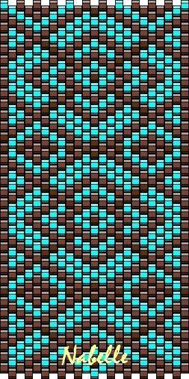 Bonjour à vous ! Je viens de réaliser ma première grille peyote géométrique Si vous la faite, vous pouvez m'envoyer votre photo,...