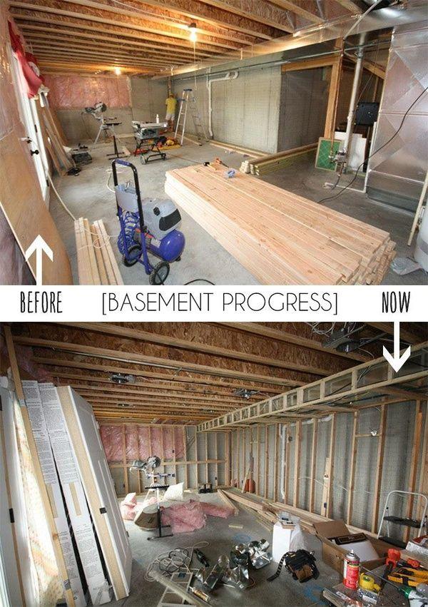 DIY Finishing A Basement Basement Pinterest