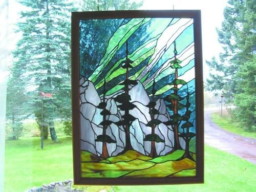 1000 Images About Stained Glass Northern Lights On