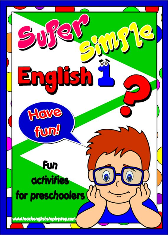 Super Simple English 1 - ESL resources for preschoolers