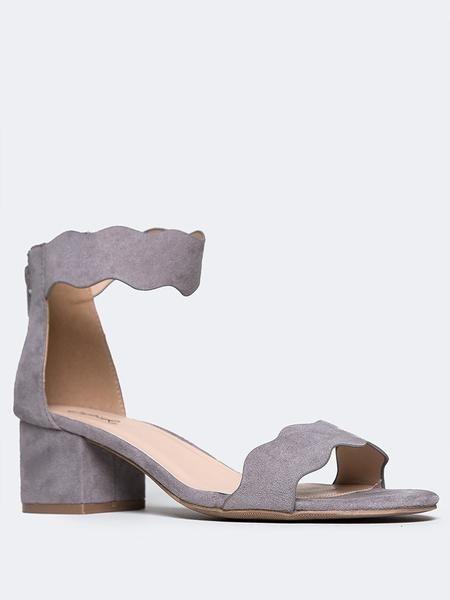 Mimi Open Toe Ankle Strap Sandal - ZOOSHOO