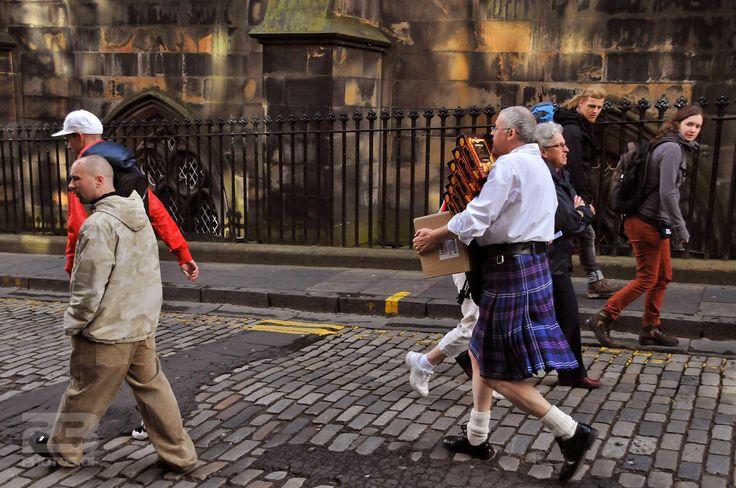 A Laden Kilt-Wearing Scot photo | 23 Photos Of Edinburgh