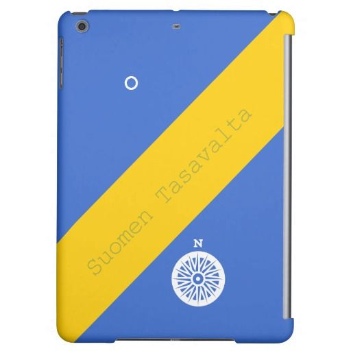 Finland in Finish Cover For iPad Air
