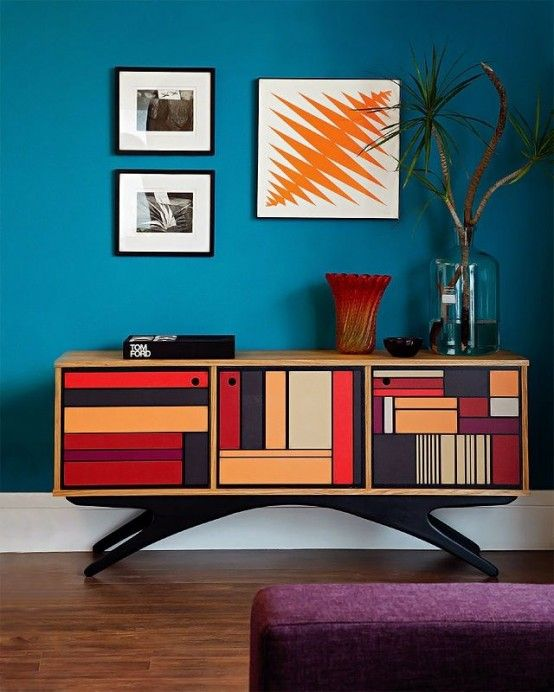 A Colored Sideboard For a Joyful Decoration To Your Living Room | www.bocadolobo.com #bocadolobo #luxuryfurniture #exclusivedesign #interiodesign #designideas #sideboardideas #originalsideboards #sideboarddesigns