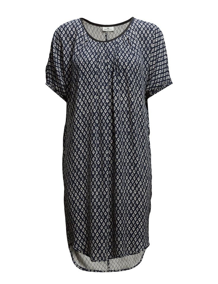 DAY - Day Winky- Centre back seam Patterned design Pleat details Elastic cuffs Loose fit Scoop neckline Straight cut Casual elegance Feminine