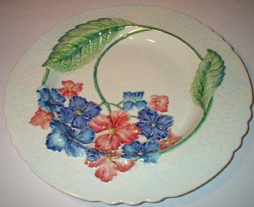 Carlton Ware Hydrangea pattern.