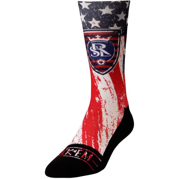Real Salt Lake For Club and Country Socks - Blue - $17.99