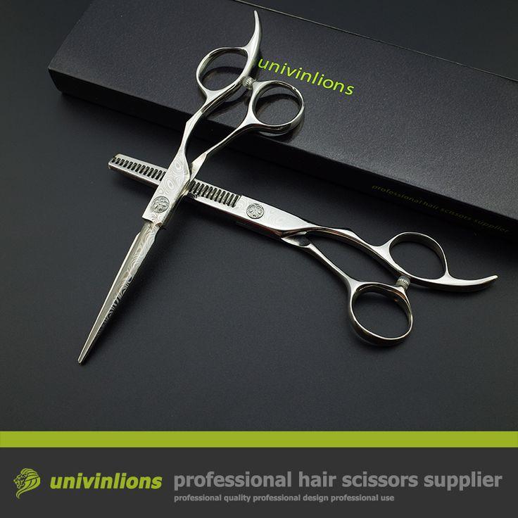 """5.5 """"damasco barbiere lama di rasoio taglio di capelli forbici giapponese parrucchiere forbici parrucchiere coiffeur in acciaio inox sissors"""