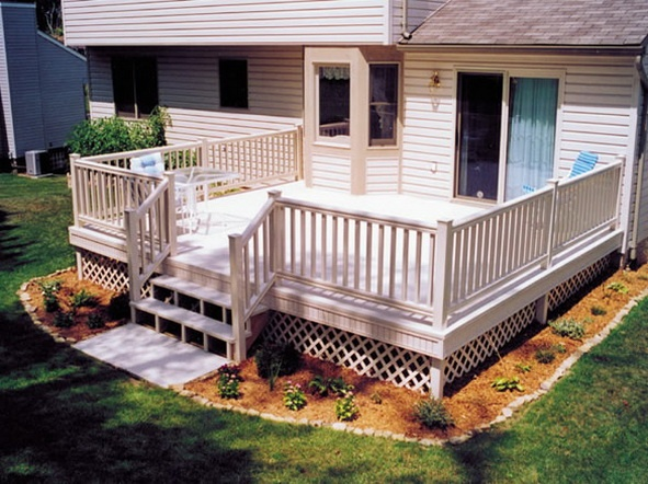 Simple+deck+railing+ideas                                                                                                                                                     More