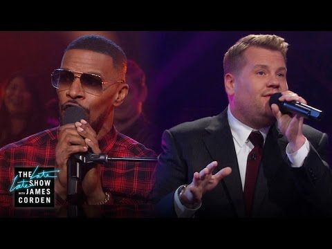 The Late Late Show with James Corden: Public Domain Songs w/ Jamie Foxx