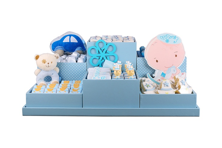 Patchi's bird theme is an endearing way to welcome your newborn baby boy! #chocolate #newborn #blue #favor