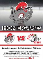January 8 2016 -- Rampage back on the ice for 2016 with back to back games tonight and tomorrow