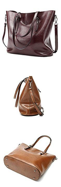 Soft Leather Tote. Abshoo Women Soft Leather Handbags Tote Bags (Dark Red).  #soft #leather #tote #softleather #leathertote