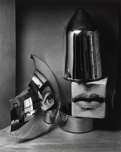 Eye and lips, 1970 by André Kertész