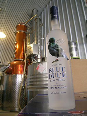 Blue Duck Vodka - www.blueduckvodka.co.nz