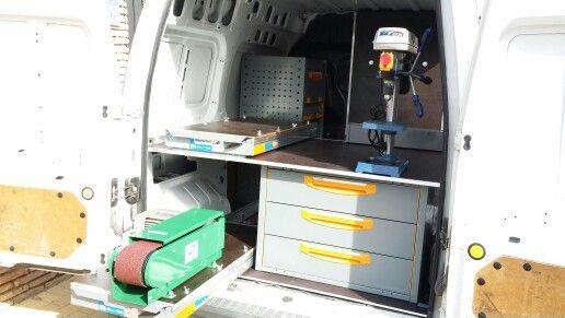 Equipamiento interior de furgonetas taller para HERRADOR. MÁS información y presupuesto sin compromiso en: www.inansur.com/presupuesto.htm