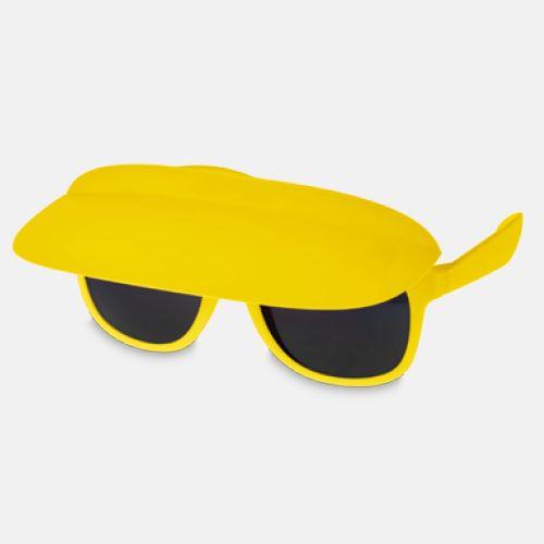 Solglasögon och skärm