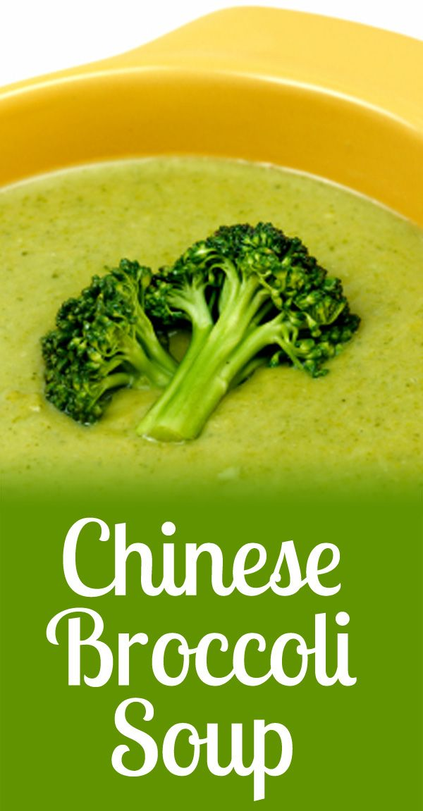 weight loss broccoli soup