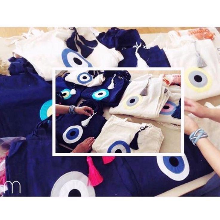 100 custom made Christina Malle bags σας περιμένουν στο κατάστημα Zafiria Patmos στην όμορφη Πάτμο με κάθε αγορά σας! #preperationmood#fashion#handbags#shopping#handmade#bags#malle_bags#evileye#eye#christinamalle_bags#clutches#handbags#sunmer2015#fashion#instafashion#vscofashion#style#streetstyle#Greece#lookoftheday#bohochic#greekdesigner#Thessaloniki#lovegreece#hope#life#magazine#madeingreece#summer#greekislands#island#Patmos