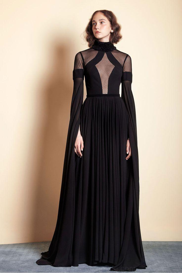 formalen schwarzen kleid/edel kleid/event-kleid/prom kleid