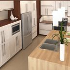 Would you believe that these are Prefabricated kitchen cabinets? EUROSTYLE delivers Inspiration for all interior designers in toronto check it out : http://www.eurostyle-kitchen.com/prefab_kitchen_cabinets_in_toronto
