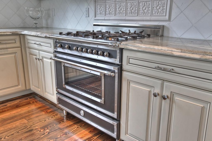 the bertazzoni stove signed and numbered from italy the kitchen has