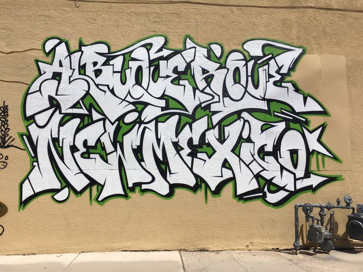 Abq hometown all city kings! Graffiti lettering