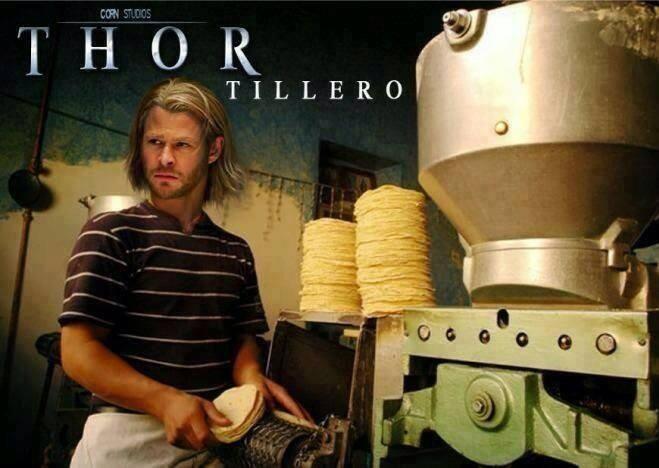 Voy por las #THORtillas #humor en español.
