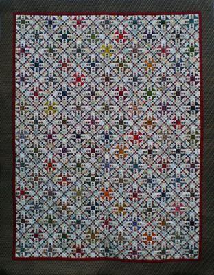 Oh My Gosh quilt (pattern Sue Garman)
