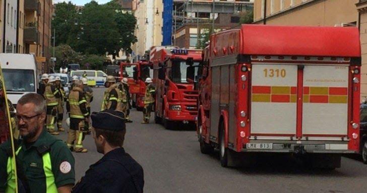Σουηδία: Κλεμμένο φορτηγό έπεσε πάνω σε αυτοκίνητα - Ένας τραυματίας