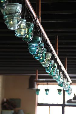 17 best images about old telegraph glass porcelain for Glass electric insulator crafts