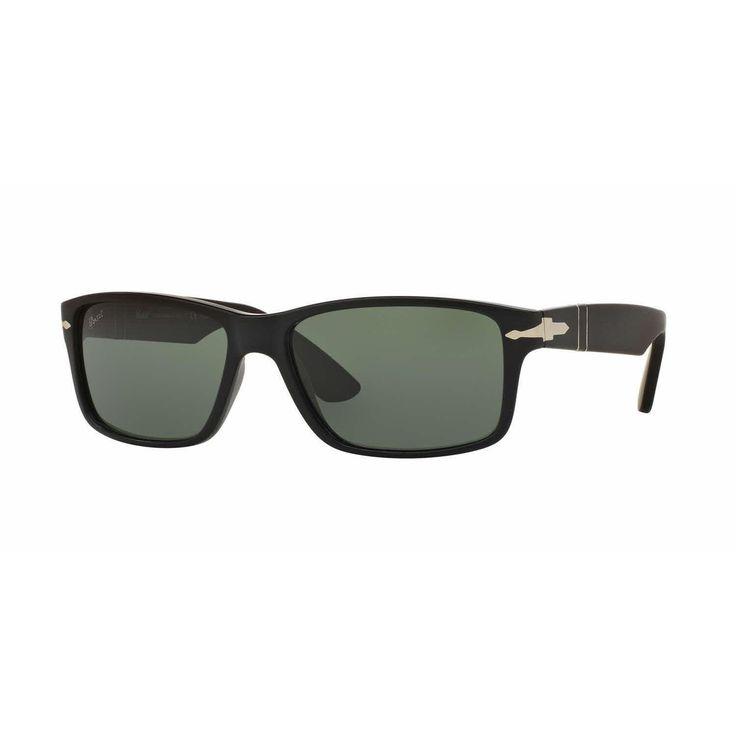 Persol Mens PO3154S 104258 Rectangle Sunglasses