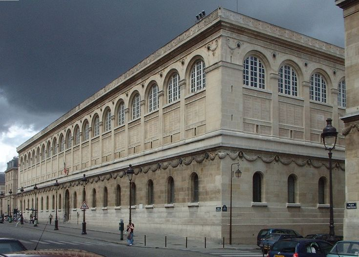 Biblioteca di S.te Geneviéve a Parigi (P. F. H. Labrouste) - Cerca con Google