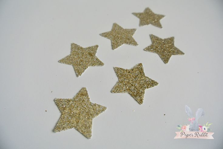 Glitter Gold Star Confetti.  1st Birthday Party Decorations By Paper Rabbit on Etsy. Twinkle Twinkle Little Star Baby Shower by PaperRabbit87 on Etsy