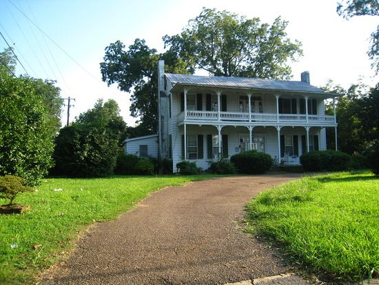"""The Forrest Gump"""" house located in Linville, North Carolina,"""
