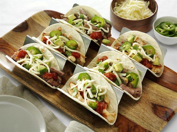 2-Bite Mini Tacos   RecipeLion.com