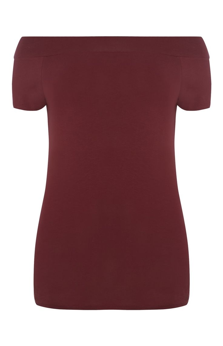 Primark - Red Bardot Top