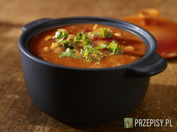 Zupa Harira z ciecierzycą