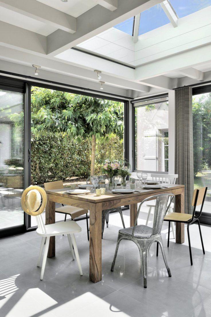 15 idées pour aménager une cuisine dans une véranda   Salle à manger véranda, Idée déco véranda ...