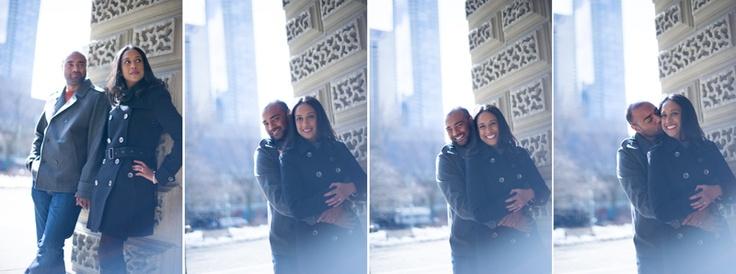 Rosita + Mark – Nathan Phillips Square, Toronto Engagement » Boston Avenue Photo Co