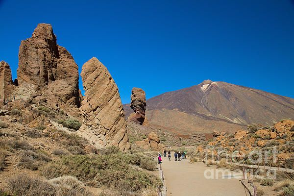 Mount Teide in sunny day, Tenerife, Canary, Spain by Anastasy Yarmolovich #Spain #AnastasyYarmolovichFineArtPhotography  #ArtForHome #Volcano