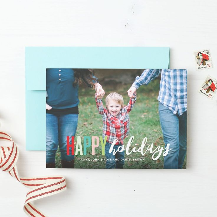 Best 25+ Custom holiday cards ideas on Pinterest | Email greeting ...