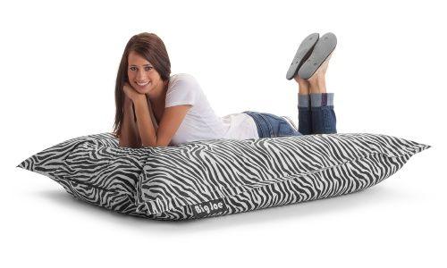 The Original Big Joe Large Pillow Lounger Chair - Zebra