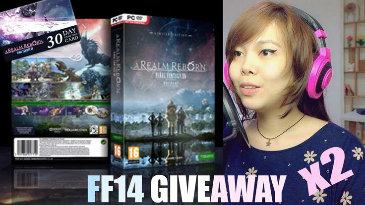 Win 2 copies FFXIV w/ 30 day gamecard ! [200 subscriber Giveaway]