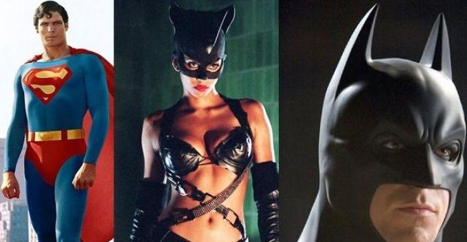 La máscara de Batman y la capa de Superman, donados al museo