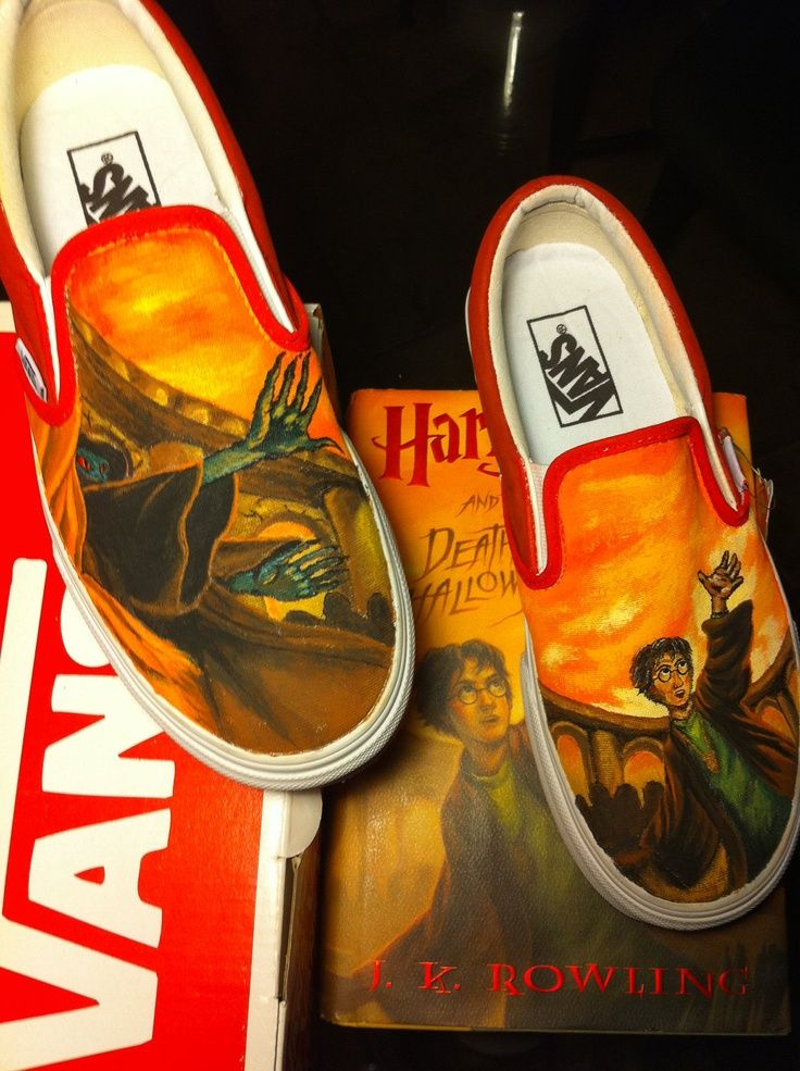 Harry Potter Shoes Vans